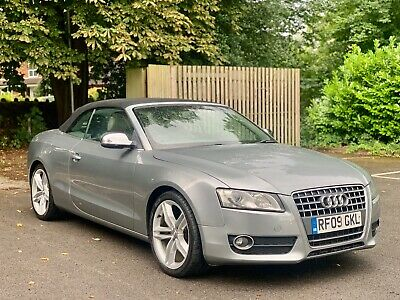 £5695 • Buy Audi A5 Se 2.0 Tfsi Turbo Petrol Convertible Cabriolet Manual S5 Extras Px