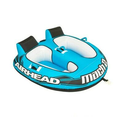 $145 • Buy AIRHEAD Mach 2 (AHM2-2) Inflatable Two-Seat Towable
