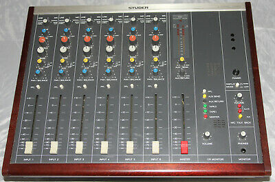 £1327.23 • Buy Studer A779, 6-channel Stereo Professional Analogue Mixer