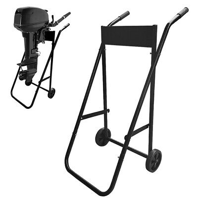 AU220.95 • Buy Heavy Duty Outboard Trolley Boat Motor Carrier Cart Engine Storage Stand L5C1