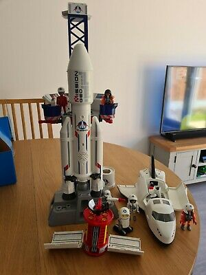 £0.99 • Buy Playmobil Spares Bundle Space Shuttle Launch Pad And Satelite
