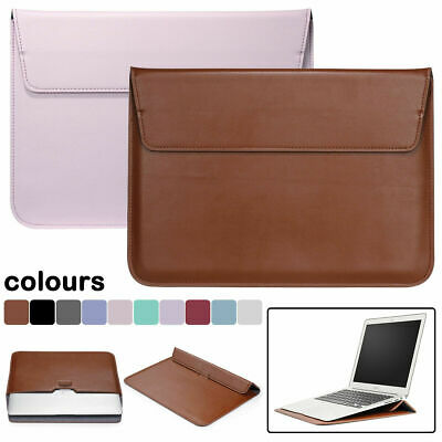 $9.13 • Buy PU Leather Laptop Sleeve Bag Case Cover For MacBook 12  Air Pro Retina 11 13 15