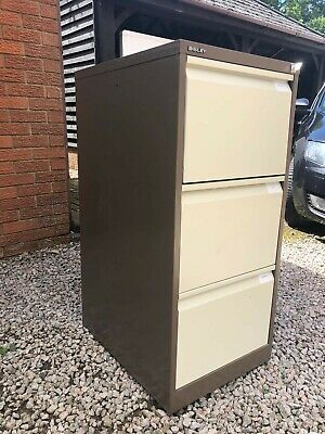 £20 • Buy Used 3 Drawer Metal Filing Cabinet With Lock And One Key