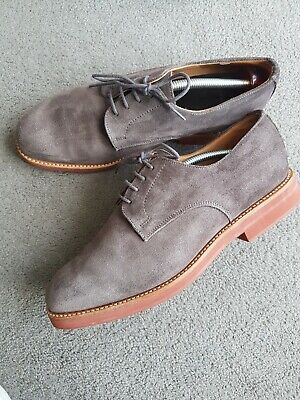 £55 • Buy Sanders For Next Mens Derby Shoes UK 7 Grey Suede Lace Up Worn Once (£170)
