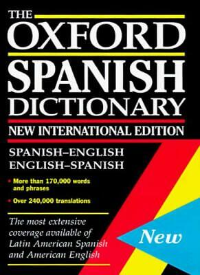 £6.38 • Buy The Concise Oxford Spanish Dictionary: Spanish-English/English-Spanish (Foreign