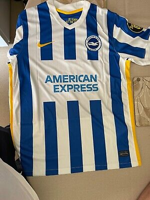 £50 • Buy Brighton And Hove Albion Home Football Shirt 21/22