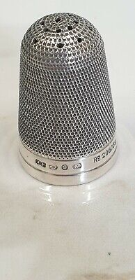 £165 • Buy Antique Birmingham Silver 1892  Unusual Large Sewing Thimble Hat Pin Stand