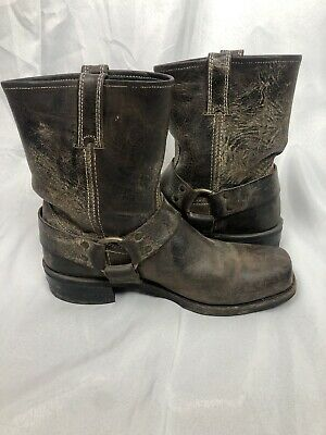 $35 • Buy FRYE Mens Boots Size 9.5 Brown Leather Short Boot