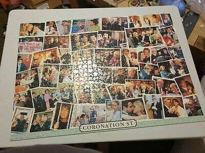 £1.90 • Buy Coronation Street Double Sided Deluxe Puzzle 1000 Piece Jigsaw By Falcon