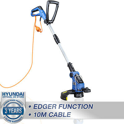 £59.99 • Buy Grass Strimmer Electric Trimmer Corded Garden 600W 10m Power Cable HYUNDAI