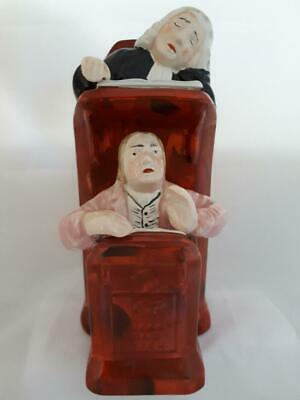 £24 • Buy Staffordshire Pottery Figure Of Sleeping Judge And Clerk