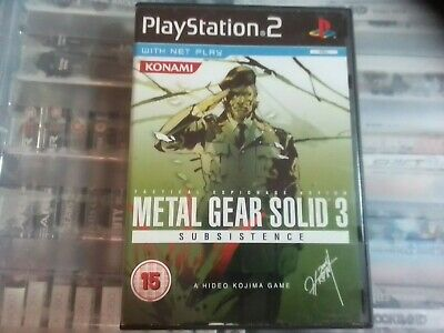 £20 • Buy Metal Gear Solid 3: Subsistence (Sony PlayStation 2, 2006) - PAL FULLY TESTED
