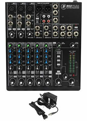 $184.95 • Buy Mackie 802VLZ4 8-channel Compact Analog Low-Noise Mixer W/ 3 ONYX Preamps
