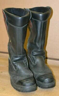 £24.99 • Buy YDS Ex Fire & Rescue Fire Firefighter Safety Leather Rigger Boots UK Size 12