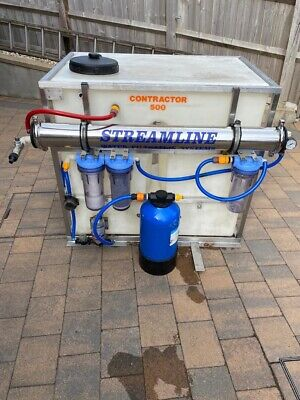 £995 • Buy Window Cleaning System Varitech Streamline 500 Litre Contractor Ro Pure Water
