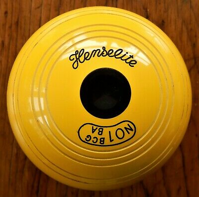 £26.85 • Buy Henselite Yellow Crown Green Jack In Tip-top Condition. Hardly Used!