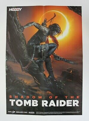 AU33.37 • Buy 2018 SHADOW OF THE TOMB RAIDER + FARCRY 5 Double-Sided Poster 54 Cm. (21.25 )