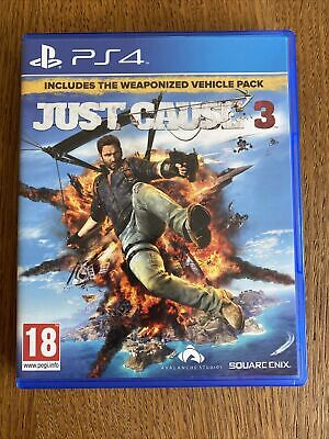£0.99 • Buy JUST CAUSE 3 Sony Playstation 4 Game PS4