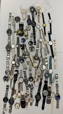$76 • Buy Wholesale Authentic Fossil Lot Of 60 Watches For Parts And Repairs Z16