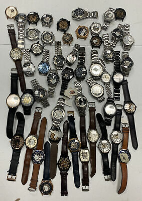 $325 • Buy Wholesale Authentic Fossil Lot Of 50 AUTOMATIC Watches For Parts And Repairs Z17