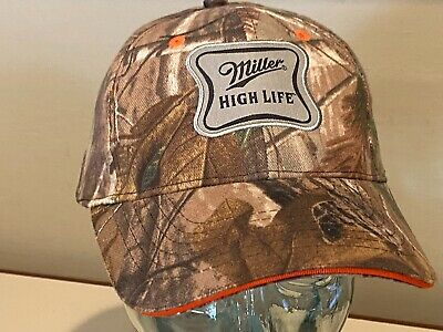 $12 • Buy Miller High Life Camo Low Profile Beer Hunting Fishing Golf Unique Hat Cap NEW