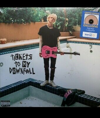 $25 • Buy Machine Gun Kelly – Tickets To My Downfall Exclusive Pink Colored Vinyl LP