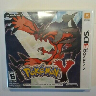 $49.95 • Buy Pokemon Y Nintendo 3DS 2013 Authentic Original Case Complete Clean Free Shipping