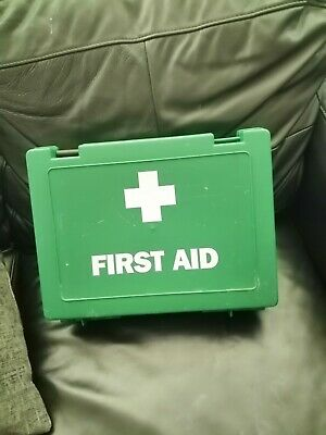£2.80 • Buy Large First Aid Box EMPTY USED With Pair Of Shears