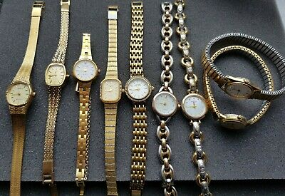 £29 • Buy Joblot Of Quality Ladies Watches. Inc. Rotary, Seiko, Etc. All Working.