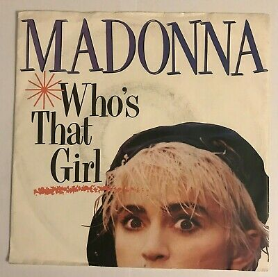 £2.89 • Buy Madonna-  Who's That Girl   7  (1987) /  White Heat  / W 8341 (Sire) LOG4