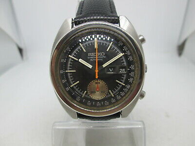$ CDN81.50 • Buy Vintage Seiko 6139-6012 Daydate Chronograph Stainless Steel Automatic Mens Watch