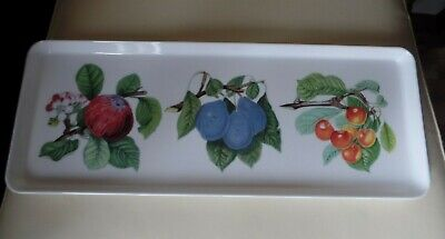 £11.99 • Buy Portmeirion Pomona  Melamine Serving Tray 15 1/4 Inches X 6 Inches