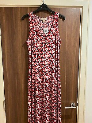 £34.99 • Buy Michael Kors Floral Maxi Dress Size L - New With Tag