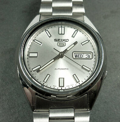 £40 • Buy SEIKO - 5 - A Gentleman's Stainless-steel Wristwatch, Automatic Movement,