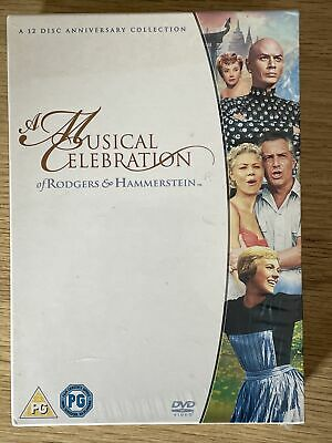 £7 • Buy Rodgers And Hammerstein Musicals DVD Box Set Brand New & Sealed