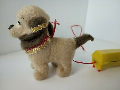 £39.99 • Buy Vintage Cable Operated Automaton Toy Dog Walks, Barks & Moves Mouth, Tail & Head