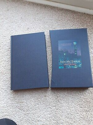 £41.80 • Buy Ian McEwan Signed: Saturday Signed & Numbered Limited Edition 26/1500