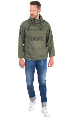 $55.60 • Buy RRP €510 GALLERY DEPT. Military Cagoule Jacket Size S Coated Details Hooded