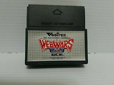 £20.86 • Buy VECTREX WEB WARS Game Only Good Condition Vintage 1982