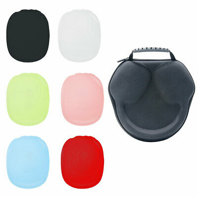 AU28.46 • Buy For NEW Apple Airpods Max Case Sleeve Storage Carrying Bag + Silicone Cover Skin