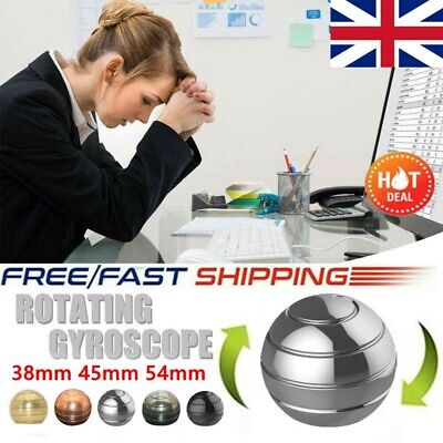 £5.79 • Buy 38mm GADGET Mezmoglobe Optical Illusion Kinetic Desk Toy Kid Adult Stress Relief