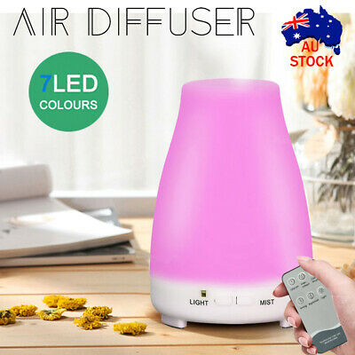 AU15.39 • Buy Essential Oil Humidifier Ultrasonic Air Diffuser Aroma Aromatherapy Air Purifier
