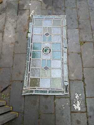 £50 • Buy Vintage Stained Glass Window