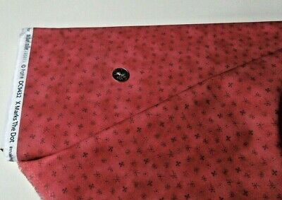 $10.77 • Buy Michael Miller Quilt-craft Fabric X MARKS THE DOT Red 2 Yds (dc-9432)BornToSew