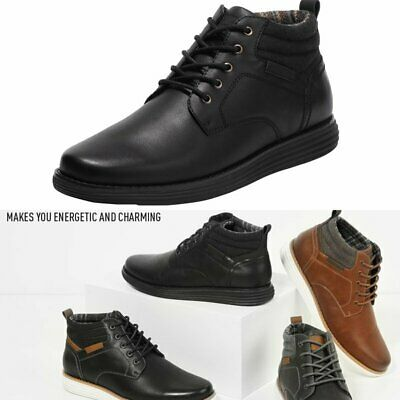 $32.29 • Buy Men's Mid Top Ankle Chukka Boots Lace Up Dress Water-Resistant Shoe Size 6.5-15