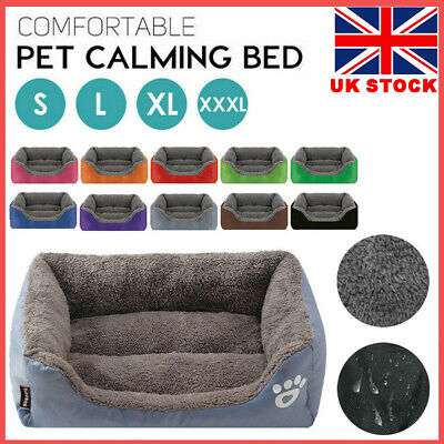 £15.59 • Buy Extra Large Dog Beds Pet Cushion House Waterproof Soft Warm Bed Kennel Blanket