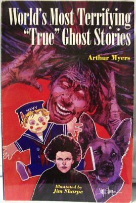 £13.99 • Buy WORLDS MOST TERRIFYING TRUE GHOST By Myers, Arthur Paperback Book The Cheap Fast