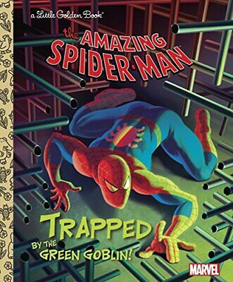 £5.49 • Buy Trapped By The Green Goblin! (Little Golden Books) By Berrios, Frank Book The