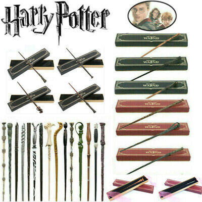 £10.99 • Buy Harry Potter Magic Wand Hermione Dumbledore Wizard Metal Stick Collect Box Gift