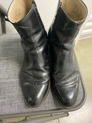 $32.30 • Buy Mens Black Leather Dress Boots Size 9
